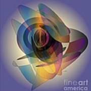 Interlocking  Circles Art Print