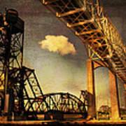 International Bridge To Canada Art Print