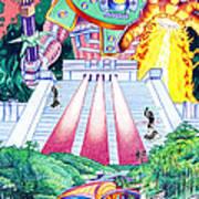 International Incident Mexico Art Print