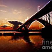 International Peace Bridge Art Print