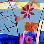 Interstate 10- Exit 256- Grant Rd Underpass- Rectangle Remix Art Print
