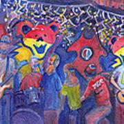 Interstate Stash Express At Oskar Blues In Lyons Co Art Print