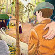 Into The Hidden Camp Art Print