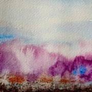 Into The Mist I Art Print