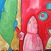 Intro Art Print by Marwan  Khayat