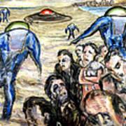 Invasion Art Print by Arthur Robins