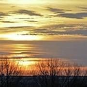 Iowa Sunrise Panorama Art Print