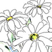 iPhone-Case-Flower-Daisy2 Art Print