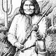 iPhone-Case-Geronimo Art Print