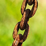 iPhone Case - Rusty Chain Print by Alexander Senin