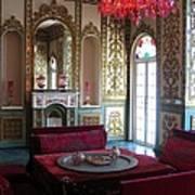 Iran Golestan Palace Interior  Art Print