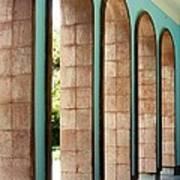 Iran Saadi Monument Shiraz Art Print