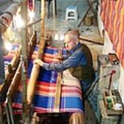 Iran Textile Weaver Art Print