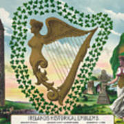 Ireland 1894 Art Print