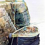 Ireland Boat Art Print
