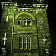 Ireland Church IIi Emerald Night Art Print
