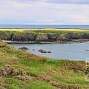 Ireland Coastline Panorama Art Print