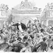 Ireland Election, 1857 Art Print