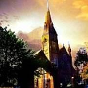 Ireland St. Brendan's Cathedral Art Print