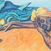 Irie Jamaica Market Spirit  Art Print