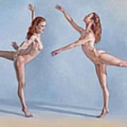 Irina Dancing Art Print by Paul Krapf