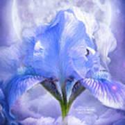 Iris - Goddess In The Moonlite Art Print