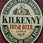 Irish Beer Art Print