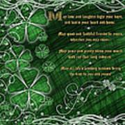 Irish Blessing Art Print