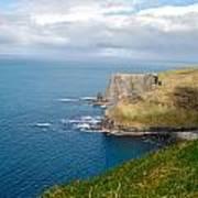 Irish Cliffs Art Print