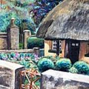 Irish Cottage Art Print