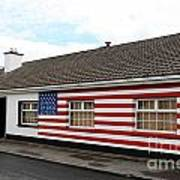 Irish Cottage Moneygall Print by Ros Drinkwater
