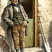 Irish Peasant Farmer Art Print