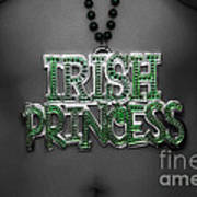 Irish Princess Art Print