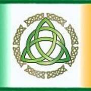 Irish Triquetra Art Print