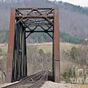 Iron Bridge Art Print by Brenda Dorman