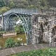 Iron Bridge Art Print