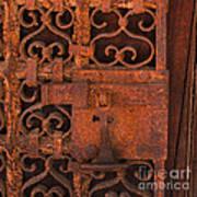 Iron Door Art Print