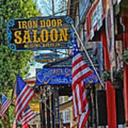 Iron Door Saloon - The Oldest Saloon In California Art Print