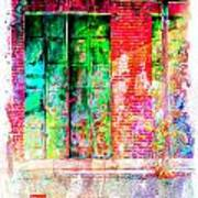Iron Doors II Art Print