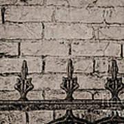 Iron Fence - New Orleans Art Print