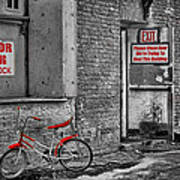 Irony In The Alley Art Print