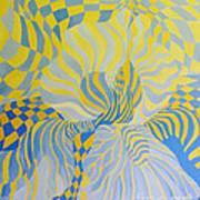 Irreverant Iris Art Print