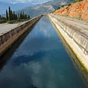 Irrigation Canal Art Print