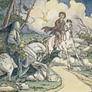 Irving: Sleepy Hollow, 1849 Art Print