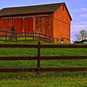 Is Every Barn Red Art Print