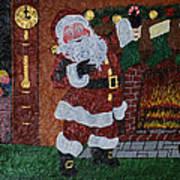 Is Santa Here Yet? Art Print