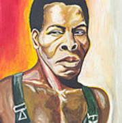 Isaac De Bankole Art Print