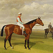 Isinglass Winner Of The 1893 Derby Art Print by Emil Adam