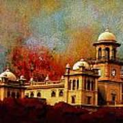 Islamia College Lahore Art Print by Catf