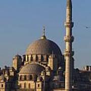 Islamic Mosque Istanbul, Turkey Art Print by Mark Thomas